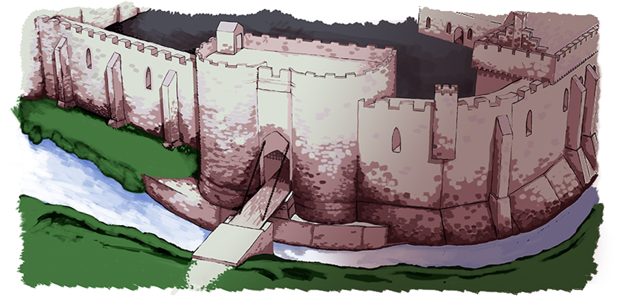 Sheffield Castle illustration