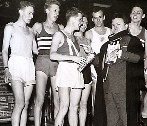 1959 cross country team with Harry Secome