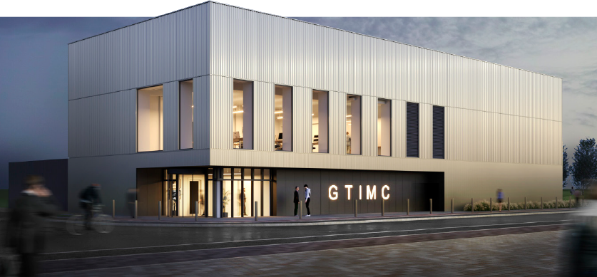 Artist's impression of the new Gene Therapy Innovation and Manufacturing Centre